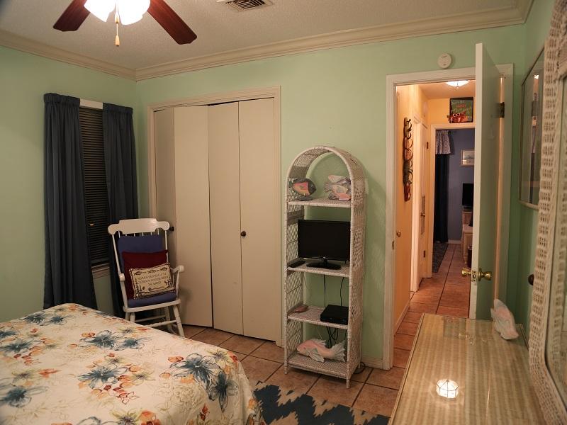 Bedroom 2 flatscreen