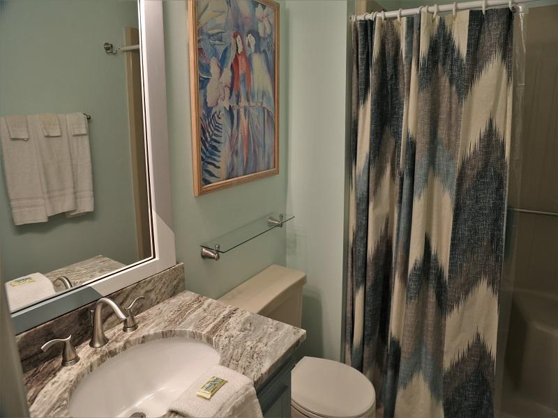 Second bathroom - standup shower