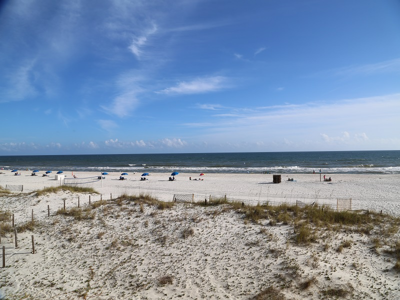 Castaways 2C - Panoramic View of Beach & Gulf from 2C Ba