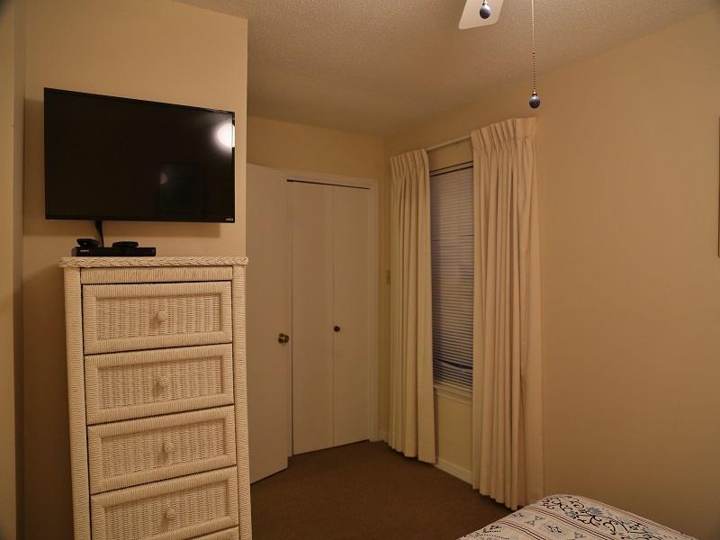 Ocean Reef 802 - second bedroom TV
