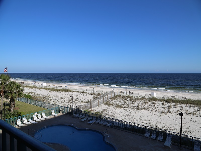 View from Private Gulf Front Balcony