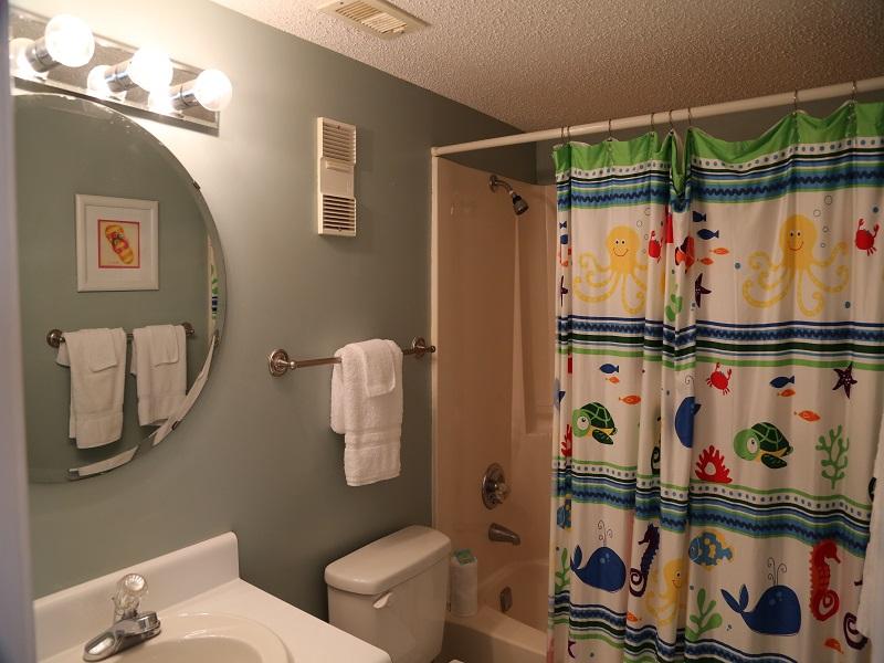 Third bathroom - hallway
