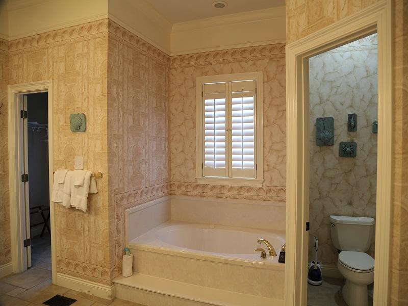 Master bathroom - tub