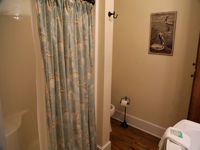 Bathroom in the second bedroom (upstairs in room) stand-up s