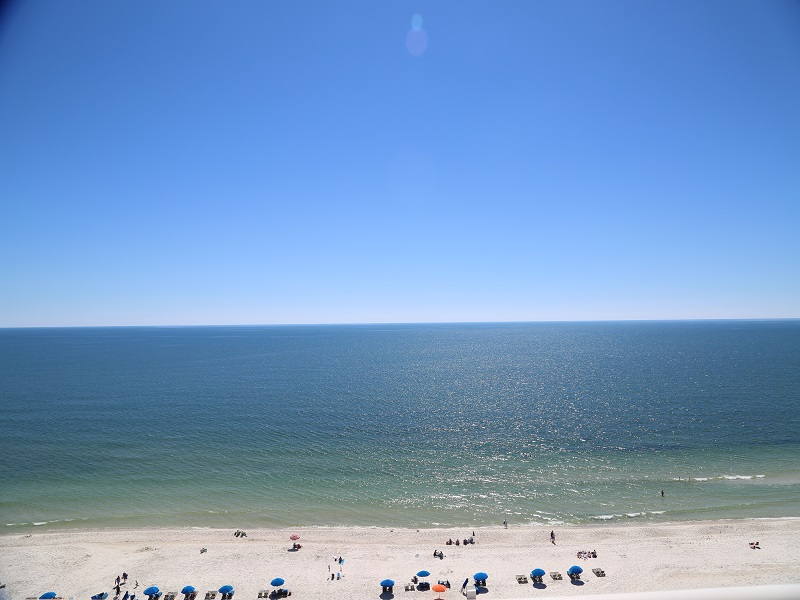 Awesome view from condo balcony