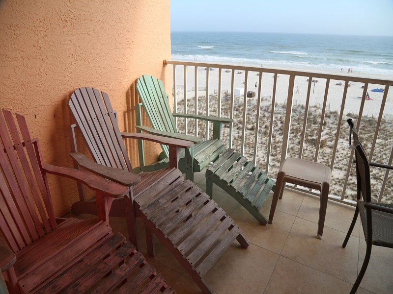 More balcony seating