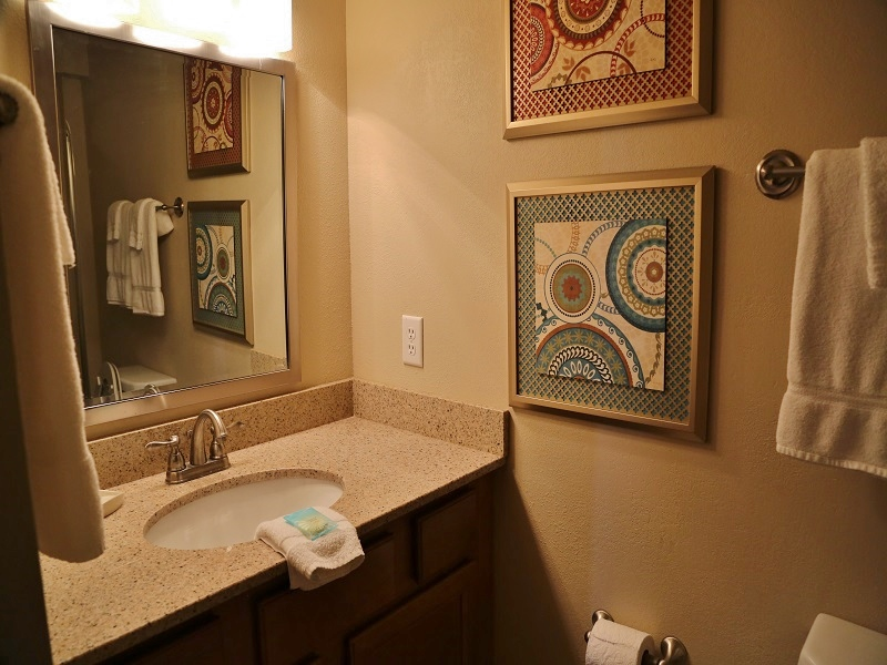 Master bedroom bathroom - shower