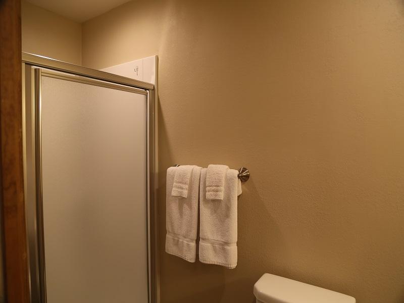 Third bathroom - shower