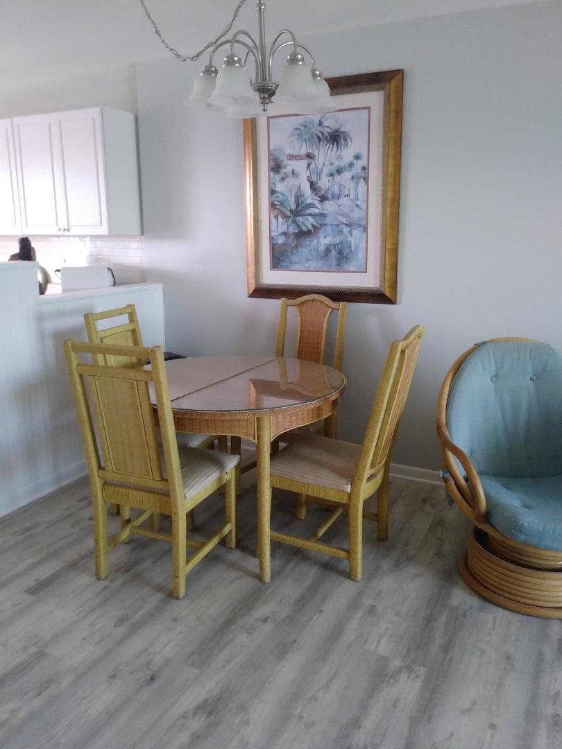 Your vacation rental includes brand new flooring!