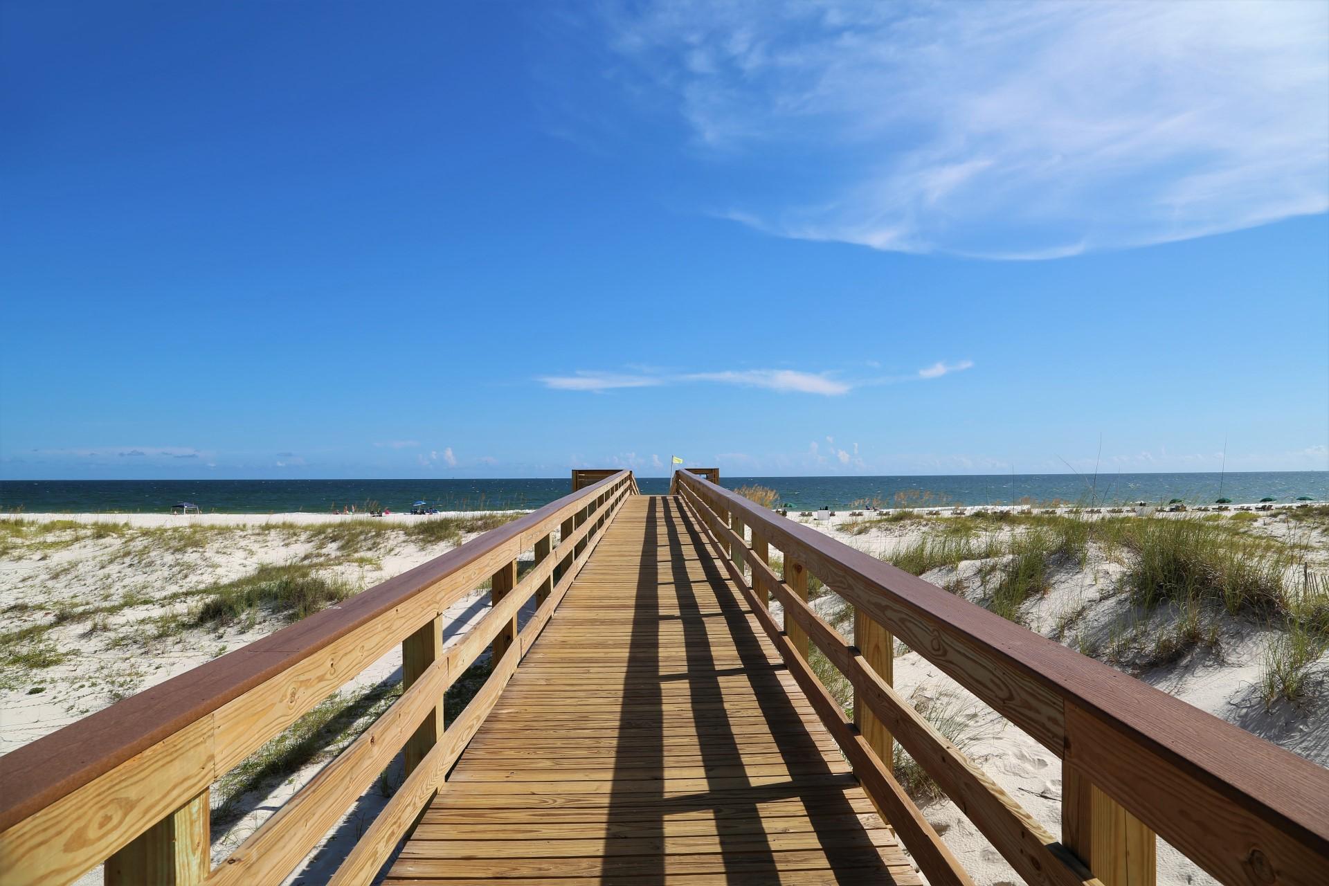 Sugar white sand beaches await.