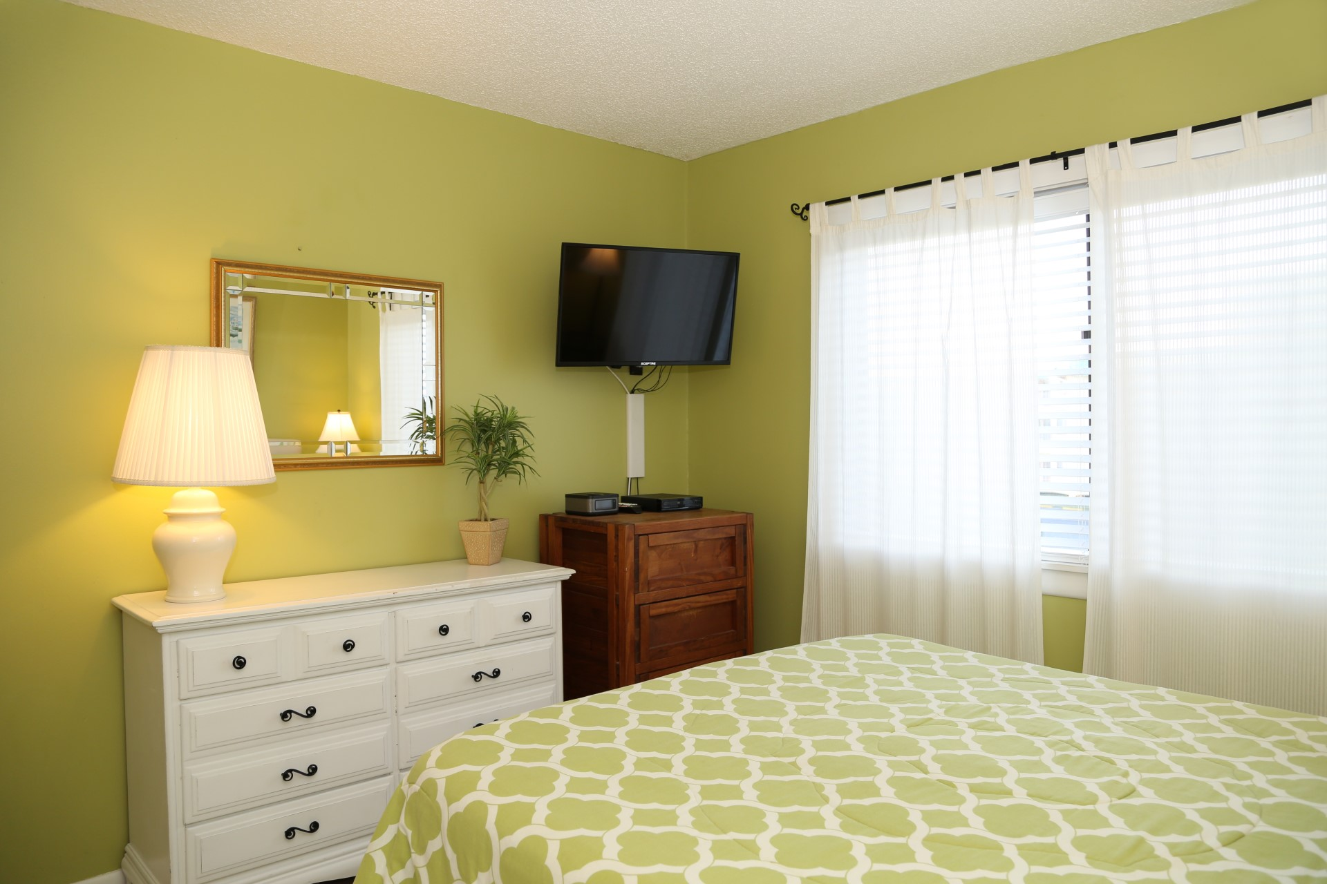 Master bedroom - tv