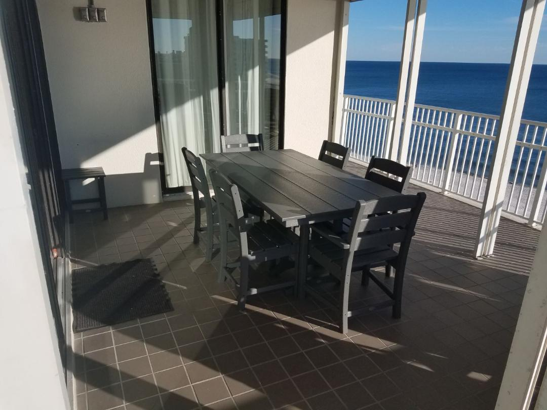 Premium balcony furniture to gather and enjoy the sunrise an