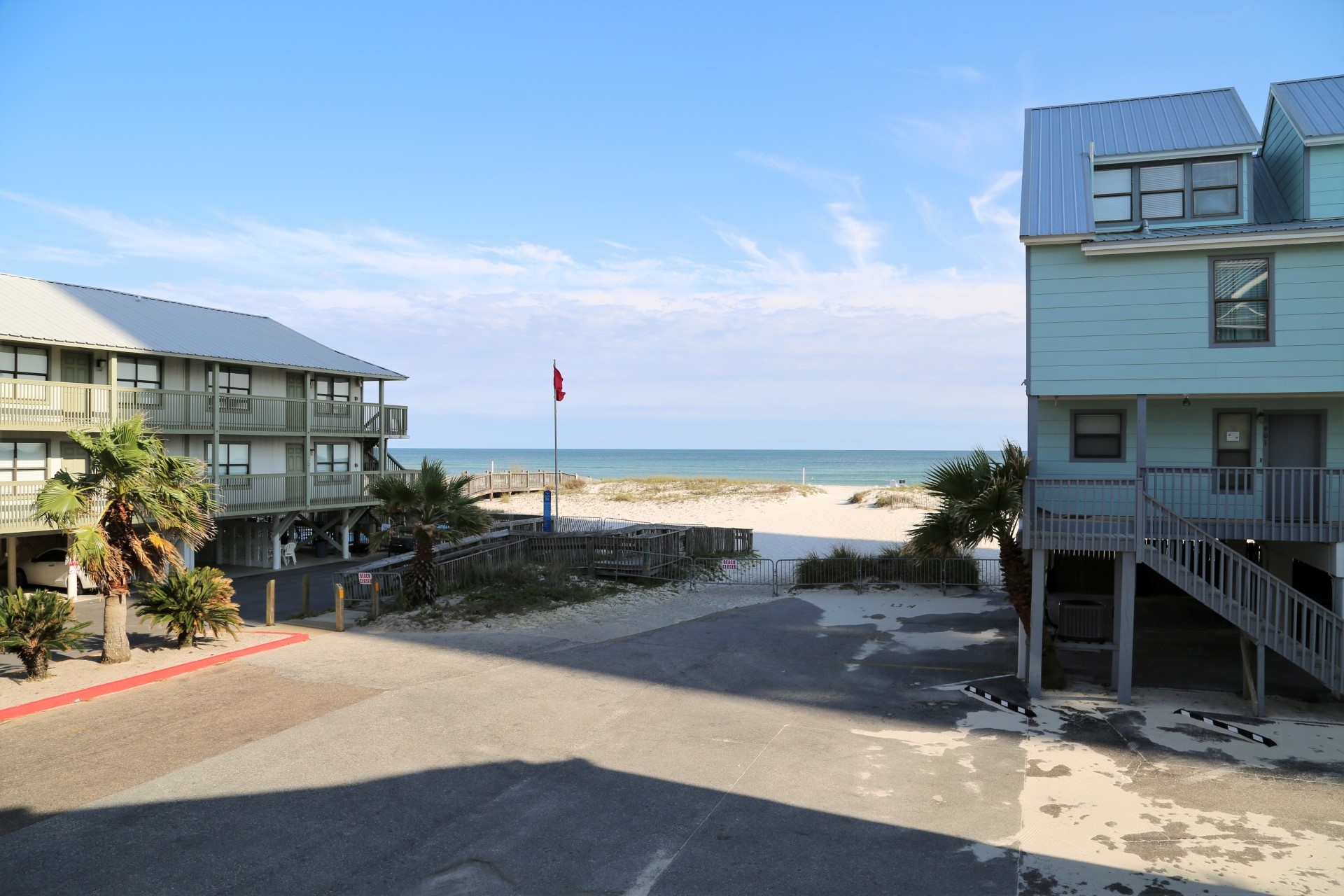 Amazing view of the beach & gulf from your private balco
