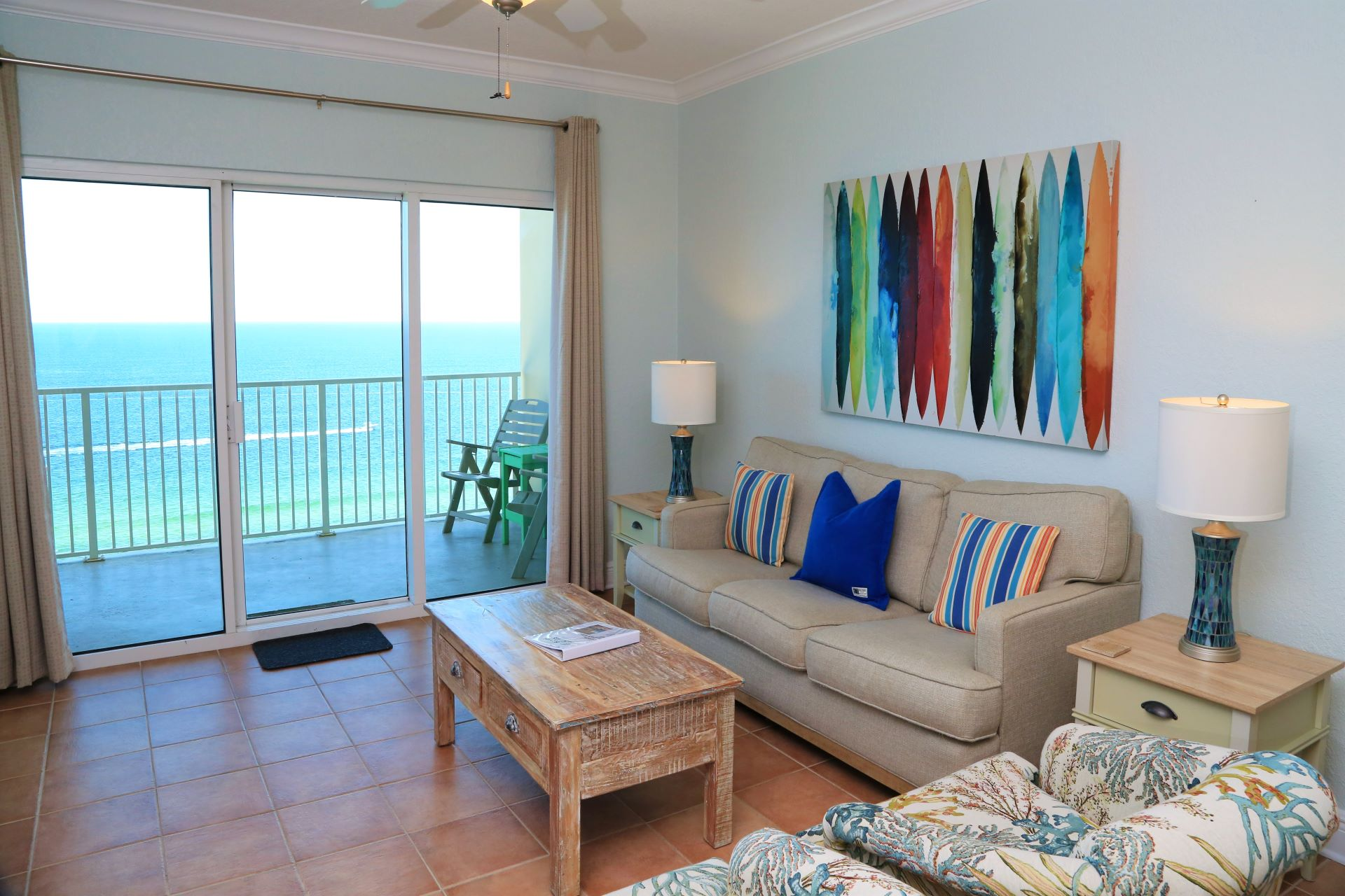 Crystal Shores West 905 -Living room seating