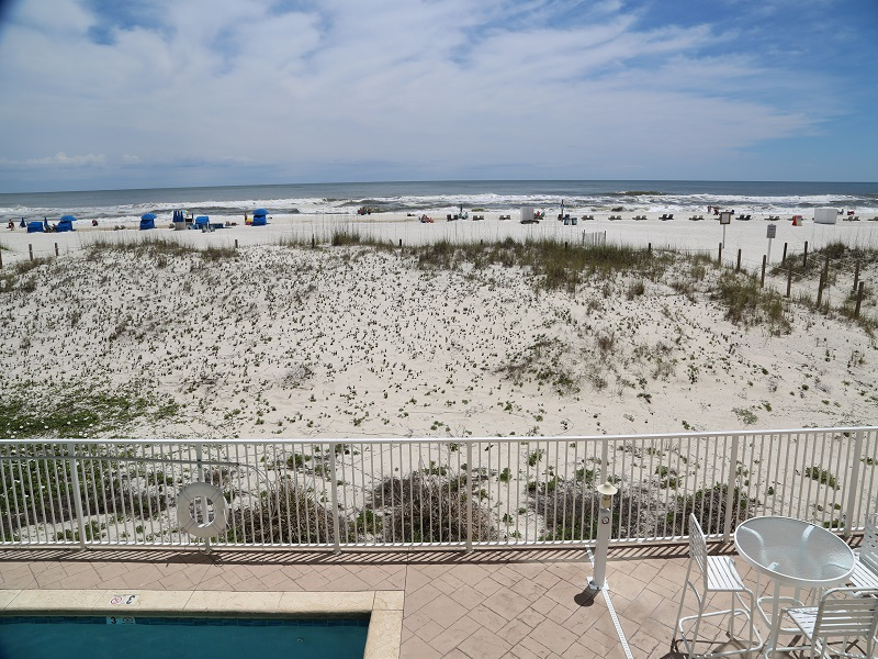 Castaways 1B - Gulf Front View from Private Balcony