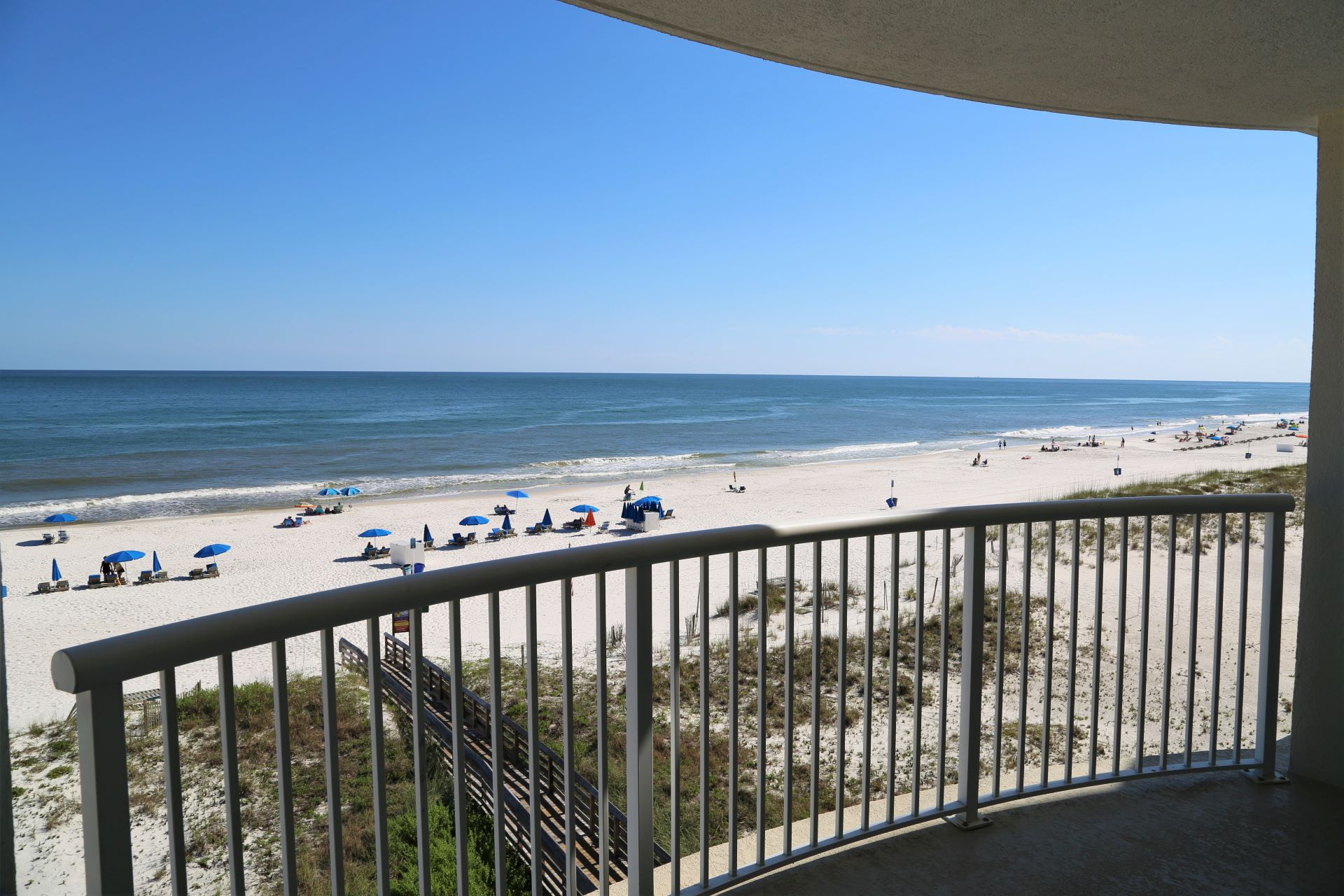 Your direct gulf front balcony view!