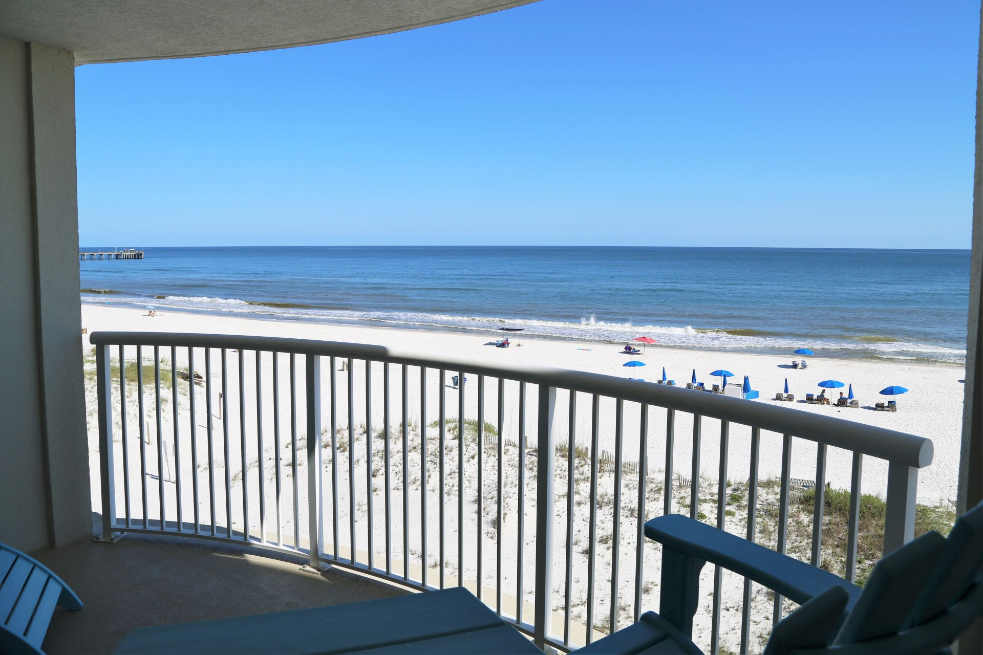 Amazing beach front views from the comfort of your vacation