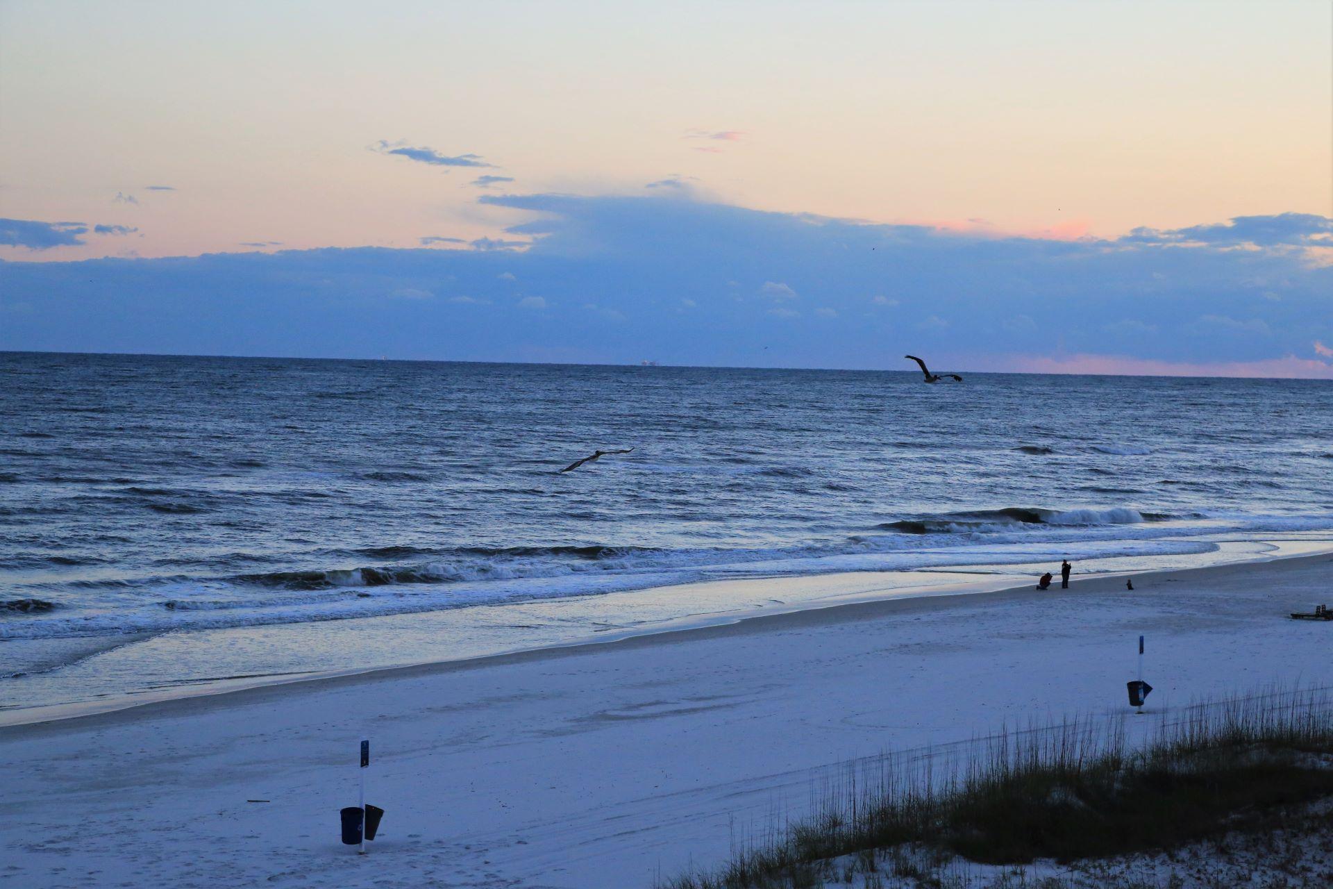 Enjoy calm evenings watching the sunset.