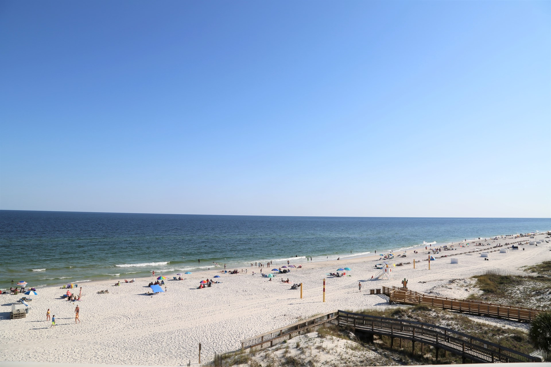 180 degree gulf front views