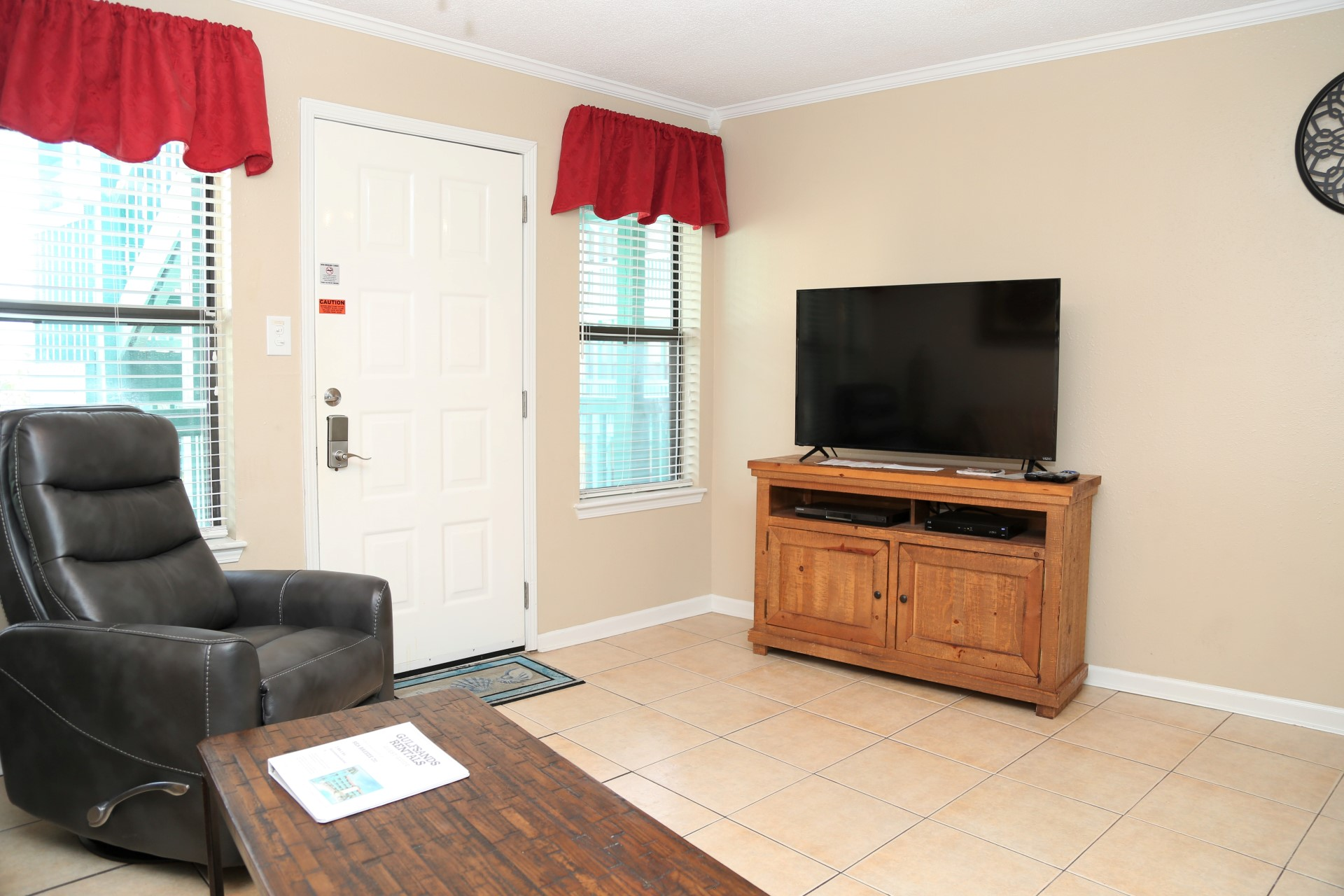 50 inch SMART TV in Living Area