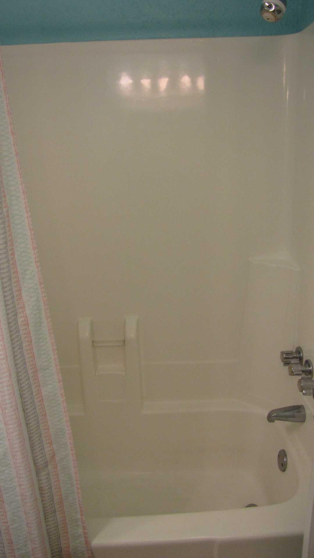 Bath 1 full tub/shower combo