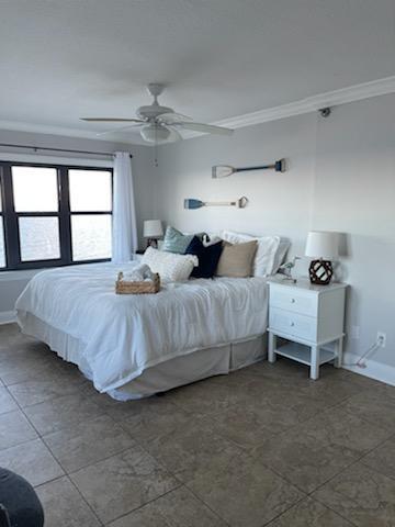 The main bedroom with en-suite bathroom.
