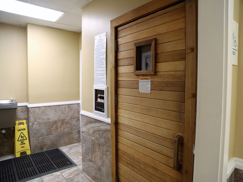 Bathroom and shower facilities, Sauna, Steam Room located in