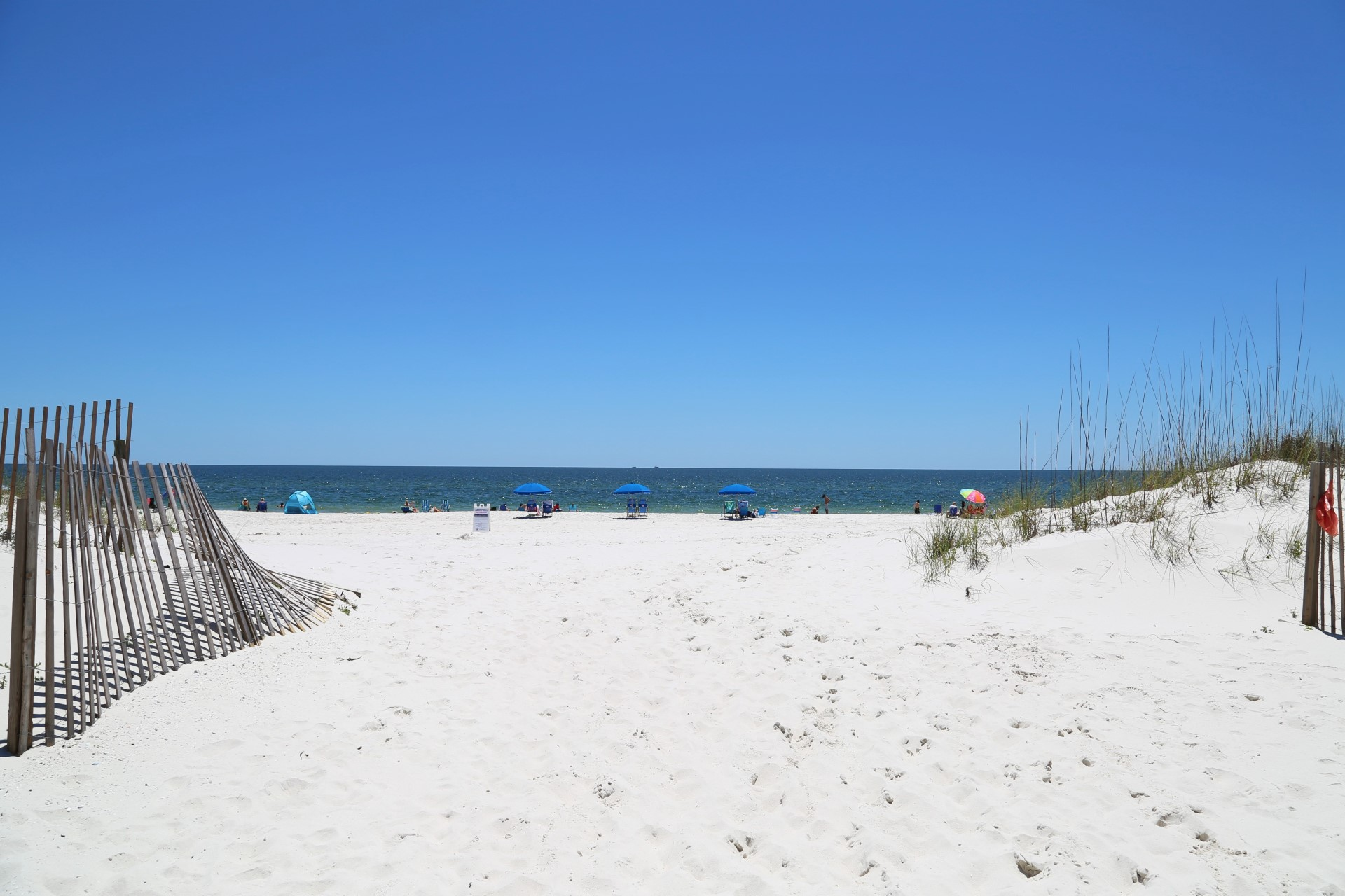 Alabama's beautiful beaches just a few steps away from