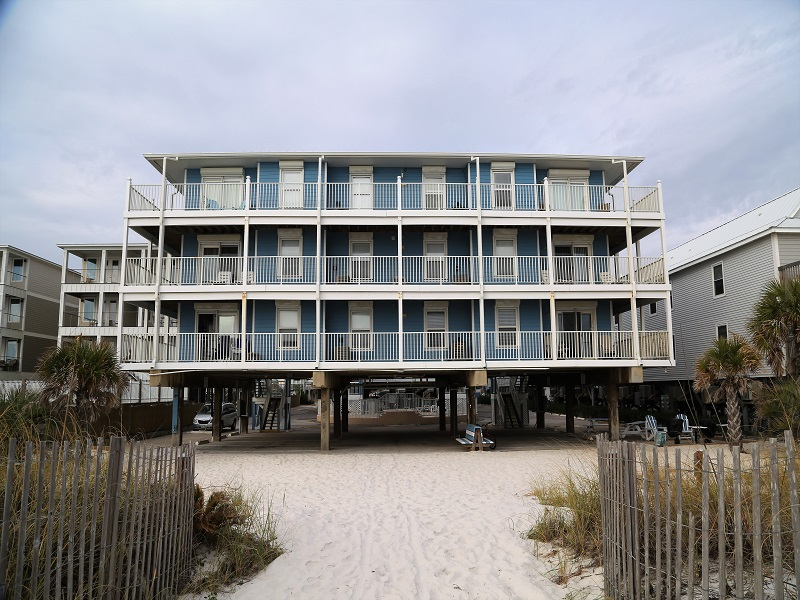 Sunchase is directly on the beach!