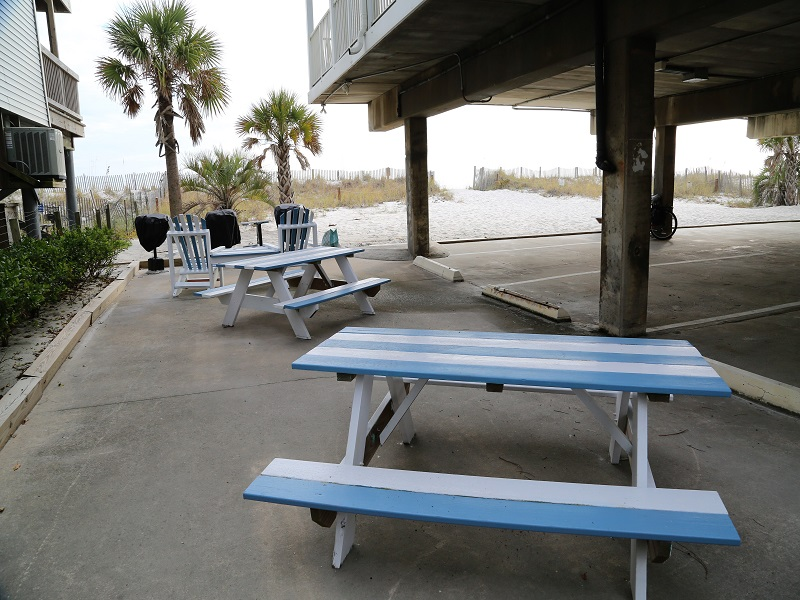 Picnic tables available