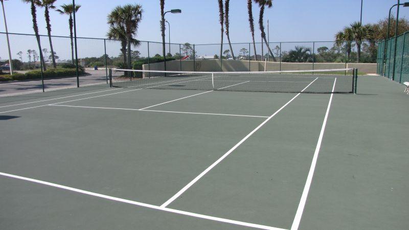 Tennis Court, too!