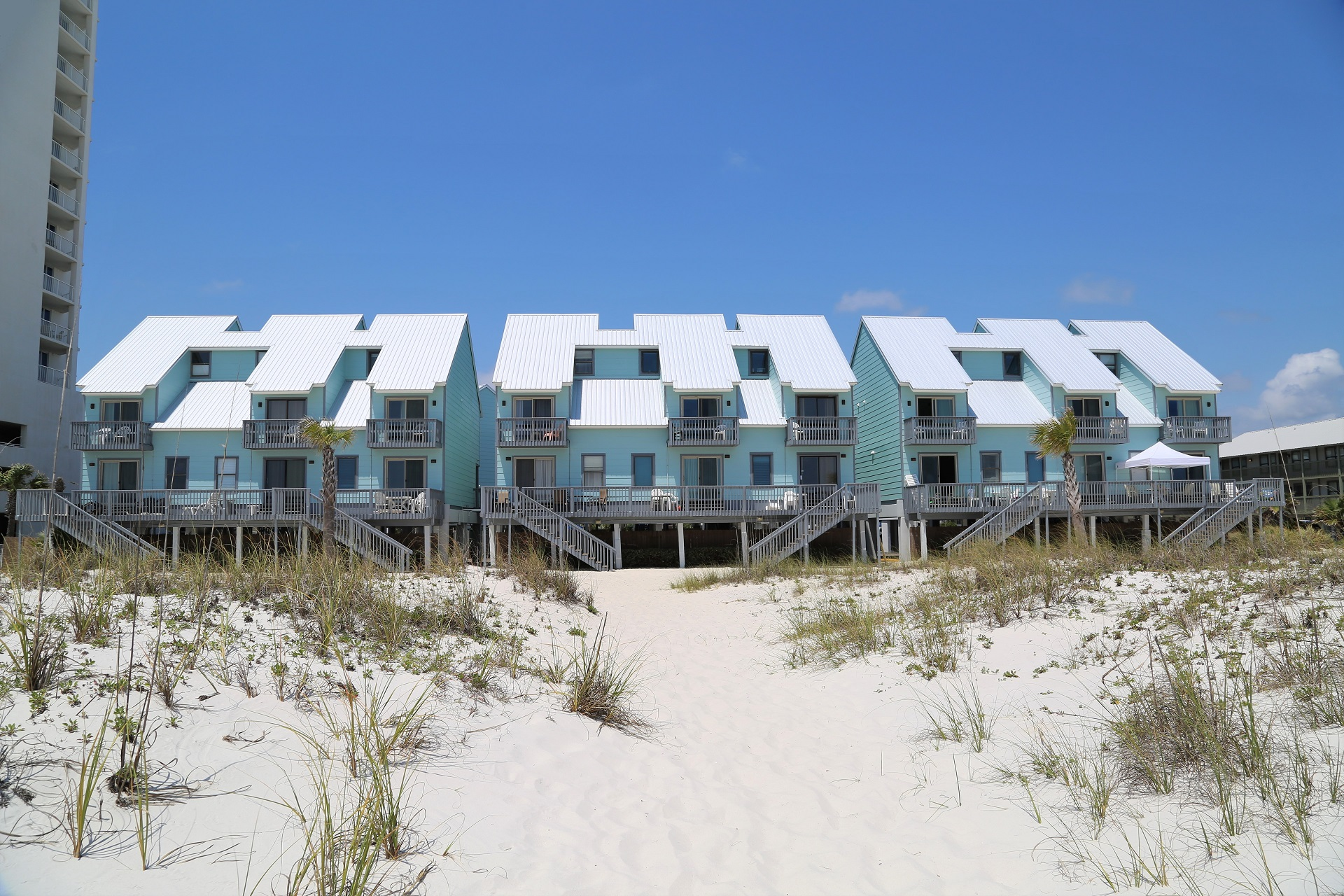 Gulf front townhomes @ Ocean Reef