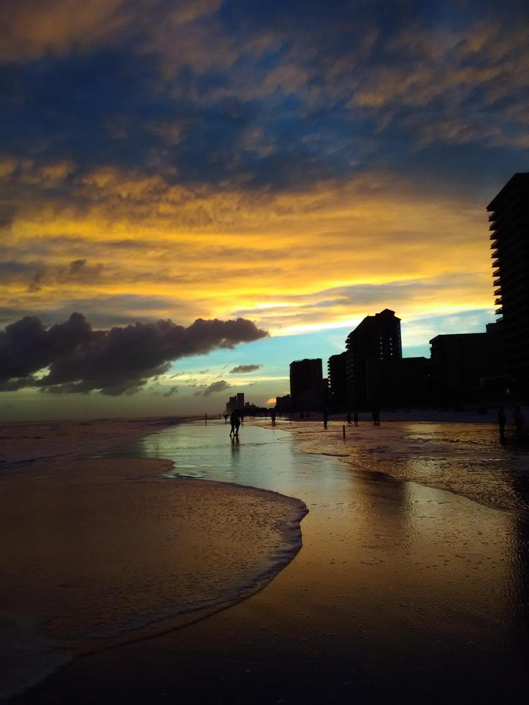 Beautiful sunsets over the gulf.