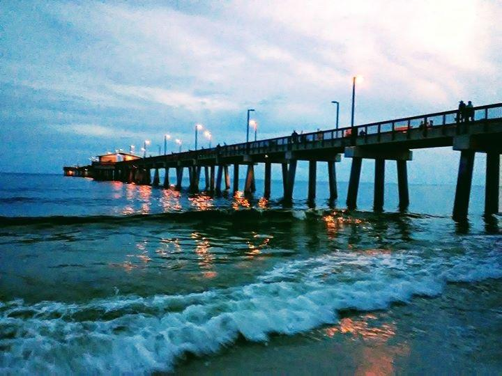 Check out the mile-long Gulf State park fishing pier!