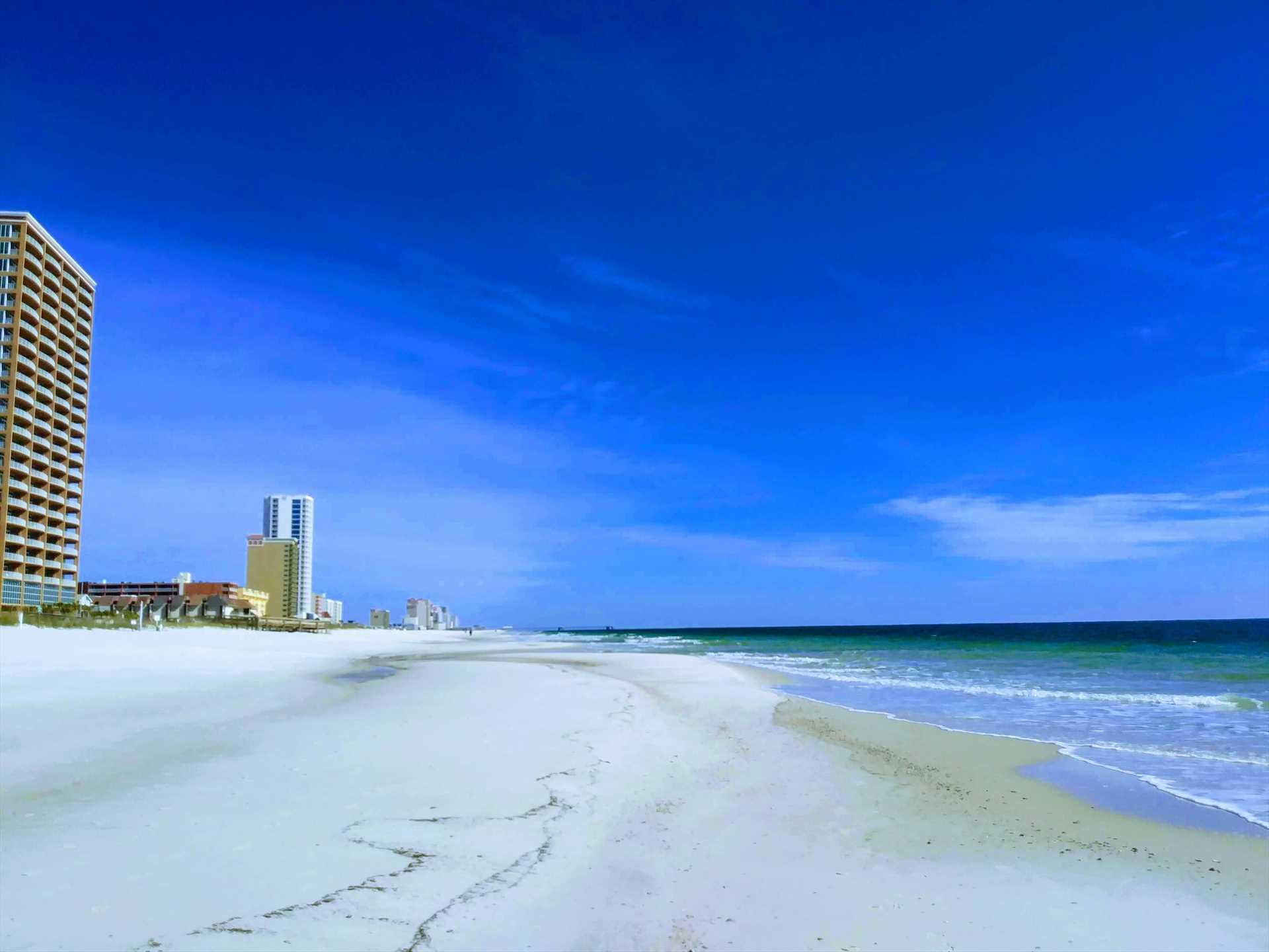 Beautiful Gulf Shores Coastline